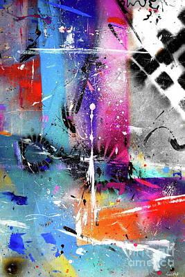Painting - A Blind Eye by Expressionistart studio Priscilla Batzell