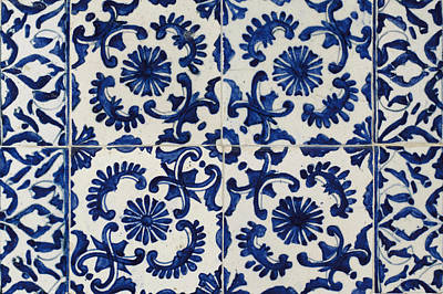 Pottery Painting - A Blue And White Pottery Panel by Eastern Accents