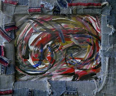 A Blue Rider Art Print
