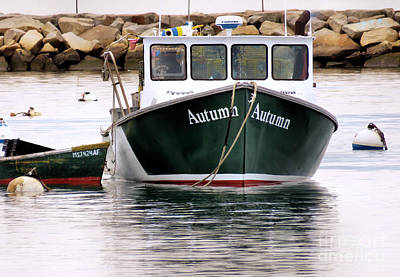 Photograph - A Boat Named Autumn by Janice Drew