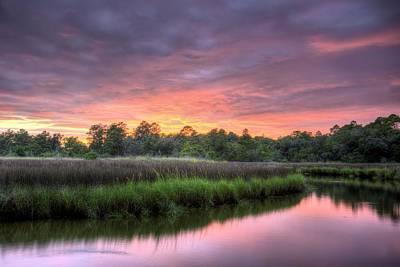 Photograph - A Bon Secour Sunset by JC Findley