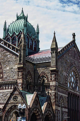 Photograph - A Boston View Cathedral by Roberta Byram