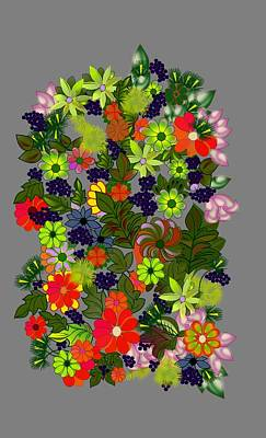 Creativity Digital Art - A Bouquet by Gary Kennedy