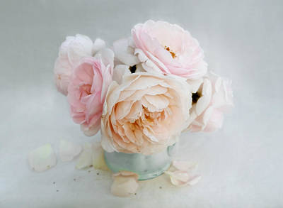 Photograph - A Bouquet Of June Roses by Louise Kumpf