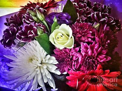 Photograph - A Bouquet Of Sympathy by Joan-Violet Stretch