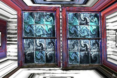Photograph - A Box Of Windows by Wayne King