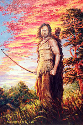 A Breadwinner. A Hunter. A Warrior. Original by Irina Sumanenkova