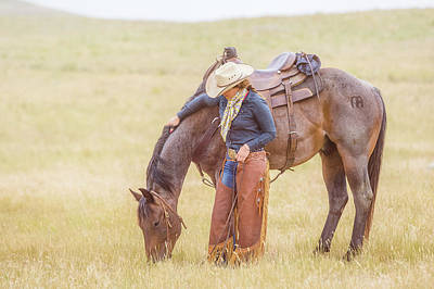 Photograph - A Break From Work by Fast Horse Photography