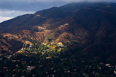 Photograph - A Break In The Clouds In Southern California by Clayton Bruster