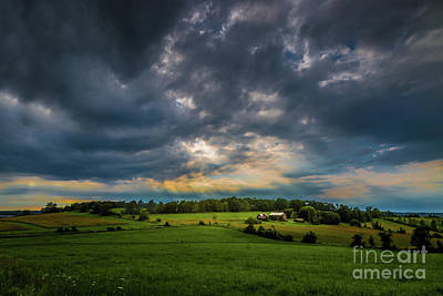 Photograph - A Break In The Clouds by Roger Monahan