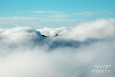 Photograph - A Break In The Fog by Mike Dawson