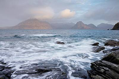 Photograph - A Break Of Light At Elgol by Stephen Taylor