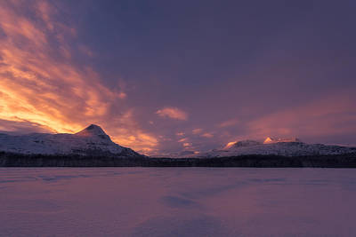 Winter Photograph - A Breath Of Change by Tor-Ivar Naess