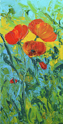 Painting - A Breath Of Spring by Lee Bauman