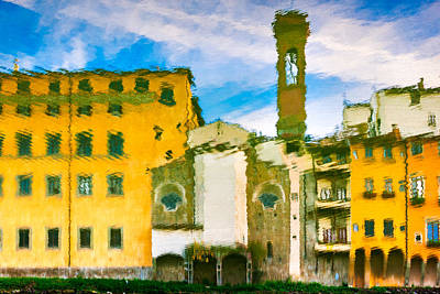 Photograph - A Breeze Over Florence by Alfio Finocchiaro