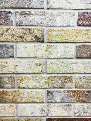 Stonework Photograph - A Brick Wall by Tom Gowanlock