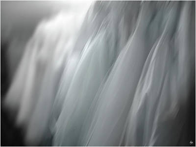 Photograph - A Brides Blue Dreams by Wayne King