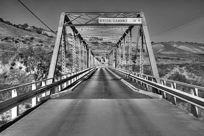 Photograph - A Bridge In Bradley by Richard J Cassato