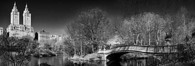 Photograph - A Bridge Into The Ramble by Cornelis Verwaal