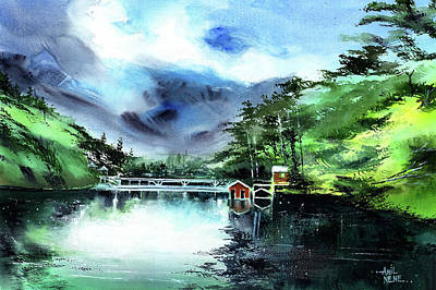 Painting - A Bridge Not Too Far by Anil Nene