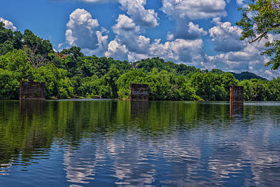 Wall Art - Photograph - A Bridge That Was by Cliff Middlebrook