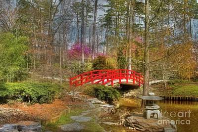 A Bridge To Spring Print by Benanne Stiens