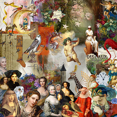 Digital Art - A Brief History Of Women And Dreams by Nola Lee Kelsey