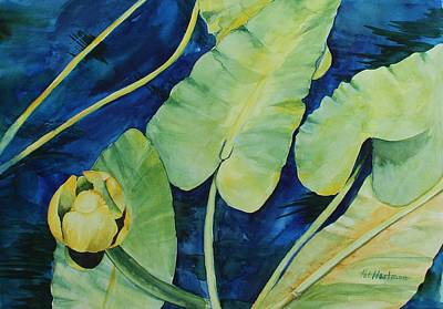 Waccamaw River Painting - A Bright Spot On The River by Pat Hartman