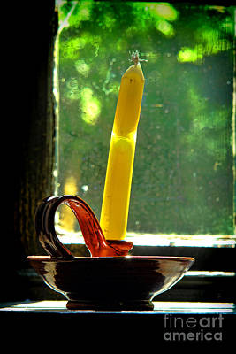 Photograph - A Broken Candle by Olivier Le Queinec