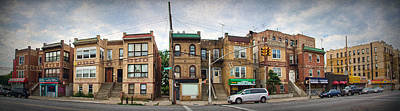 Tremont Photograph - A Bronx Street by June Marie Sobrito