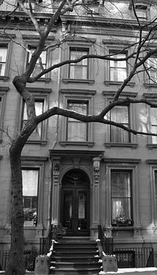 Photograph - A Brownstone In Brooklyn by Christopher Kirby