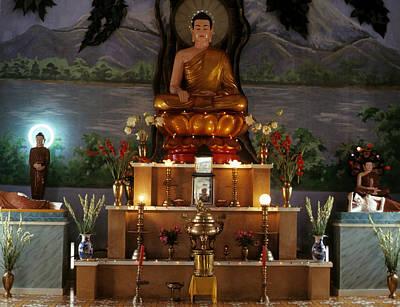 Photograph - A Buddhist Shrine #2 by Robert Holden