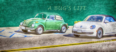 Painting - A Bug's Life by David Millenheft