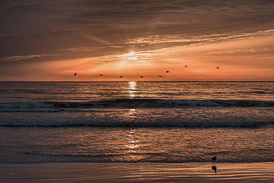 Photograph - A Burnished Sunrise by John M Bailey