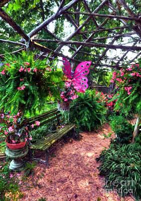 Photograph - A Butterfly Garden by Mel Steinhauer