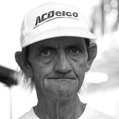 Photograph - A C Delco Man by Robert Melvin