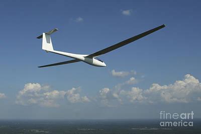 Photograph - Arolladen-schneider Ls4 Glider by Daniel Karlsson