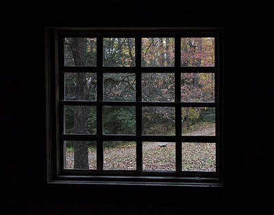 Photograph - A Cabin View Of Fall by Kathleen Scanlan