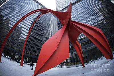 Photograph - A Calder Study - 2 by David Bearden