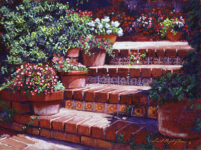 Beverly Hills Painting - A California Greeting by David Lloyd Glover