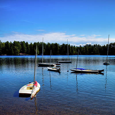 Photograph - A Calm Day On White Lake by David Patterson