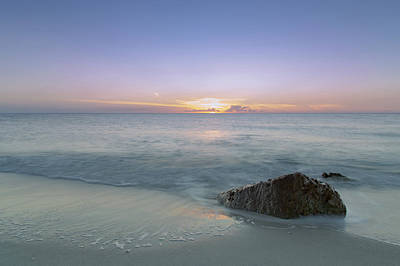 Photograph - A Calm Sea by Christopher L Thomley