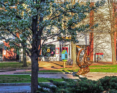 Photograph - A Calm Spring Morning In Downtown Salem Ma by Toby McGuire
