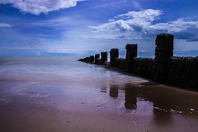Wet On Wet Photograph - A Calming Seascape by Martin Newman
