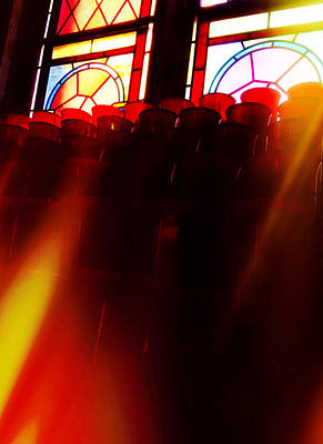 Photograph - A Prayer For Nonna - Prayer Candle - Spiritualism by Joann Vitali