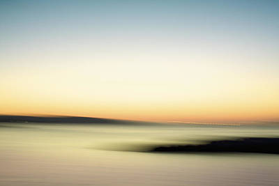 Photograph - A Candy Colored Sunset by Julius Reque