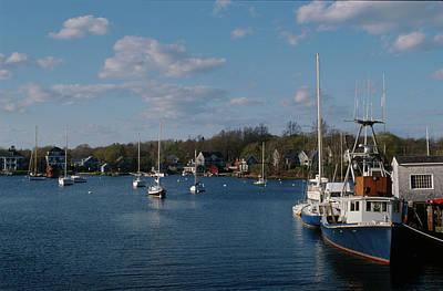 Photograph - A Cape Cod Harbor In Summer by John Clark