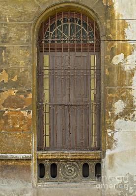 Photograph - A Capital Door by Ethna Gillespie