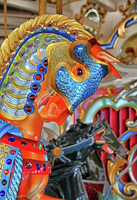 Photograph - A Carousel Beauty by Mike Martin