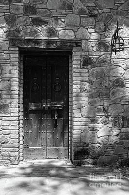 Photograph - A Castle Door by Cathie Richardson